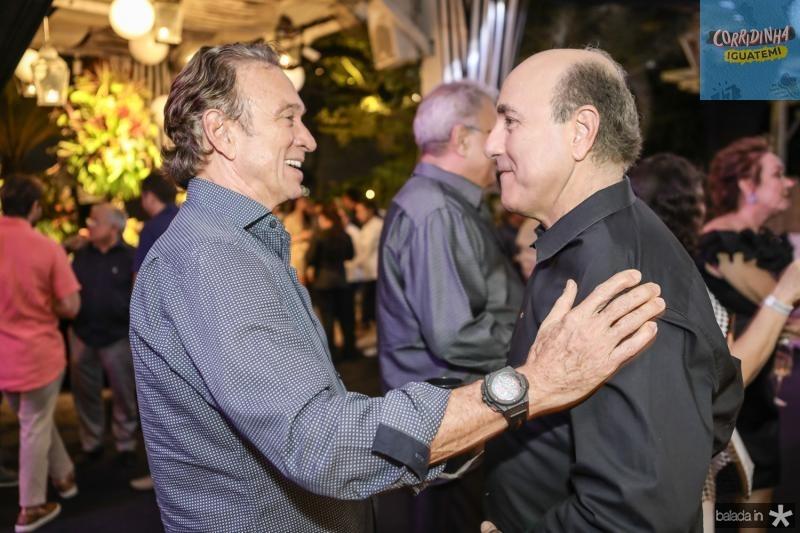 Erivaldo Arrais e Silvio Frota