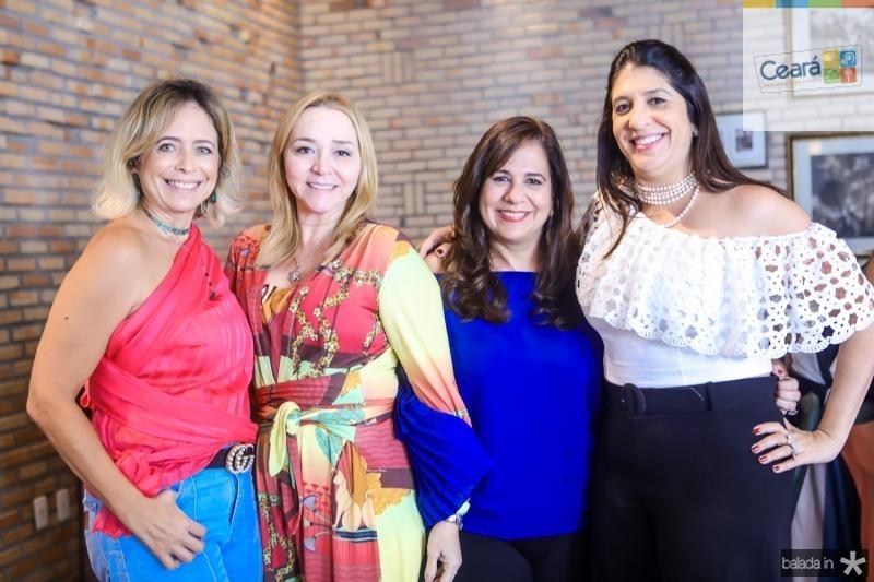 Andrea Fialho, Sandra Fujita, Martinha Assunçao e Elisa Oliveira
