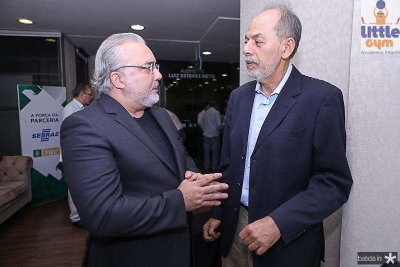 Jean-Paul Prates e Inacio Arruda
