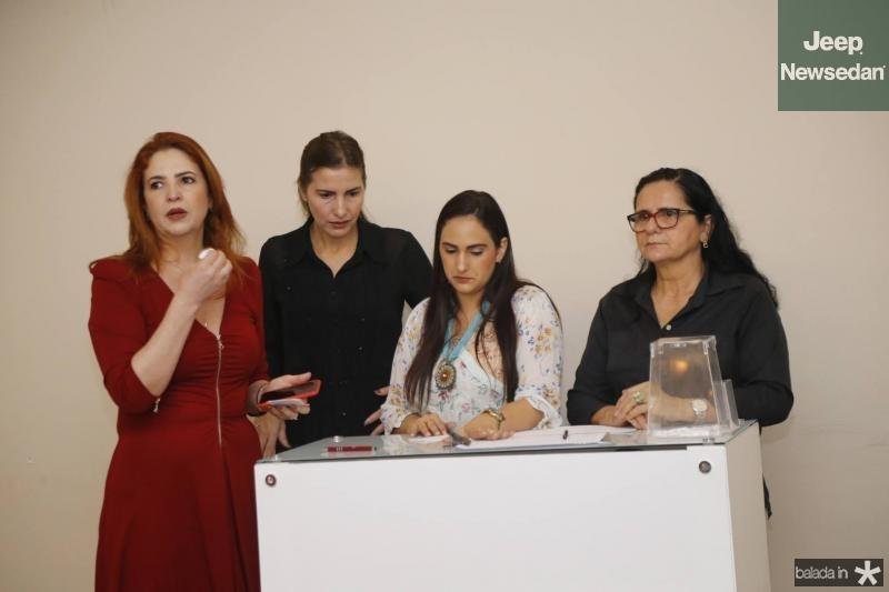 Enid e edna Camara, Nagila Freitas e Luiza Mendes