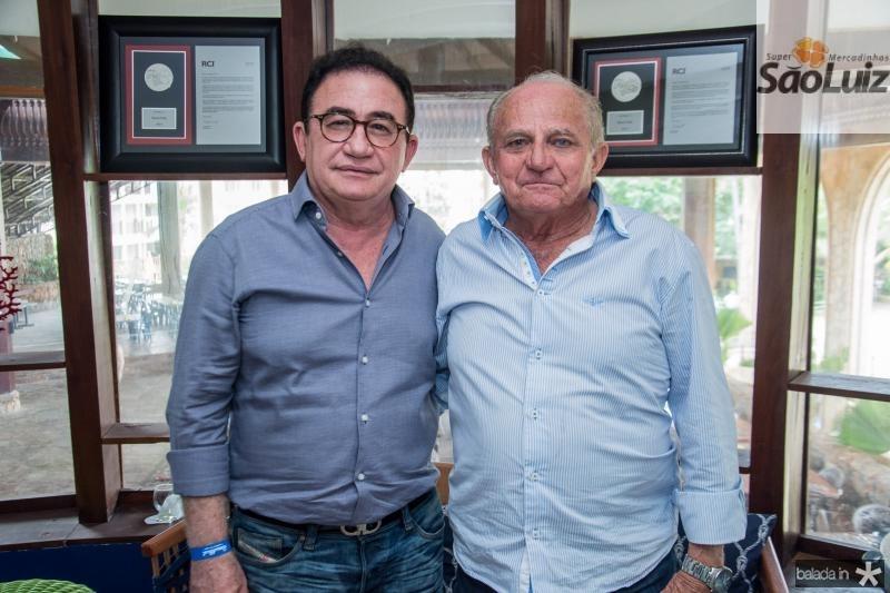 Manoel Linhares e Edson Sa