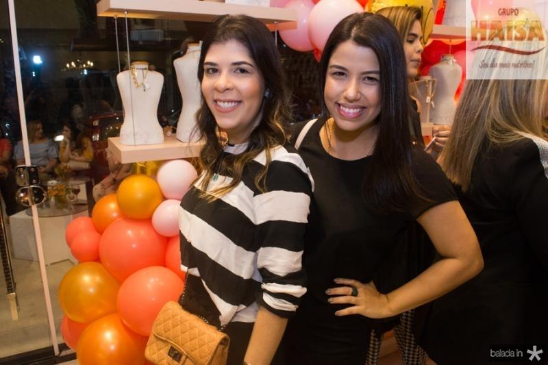 Jessyca Cruz e Amanda Maia