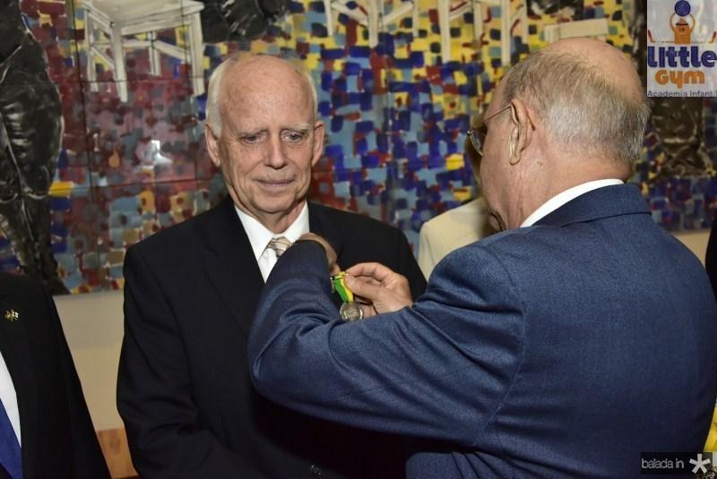 Dieter Gerding e João Soares
