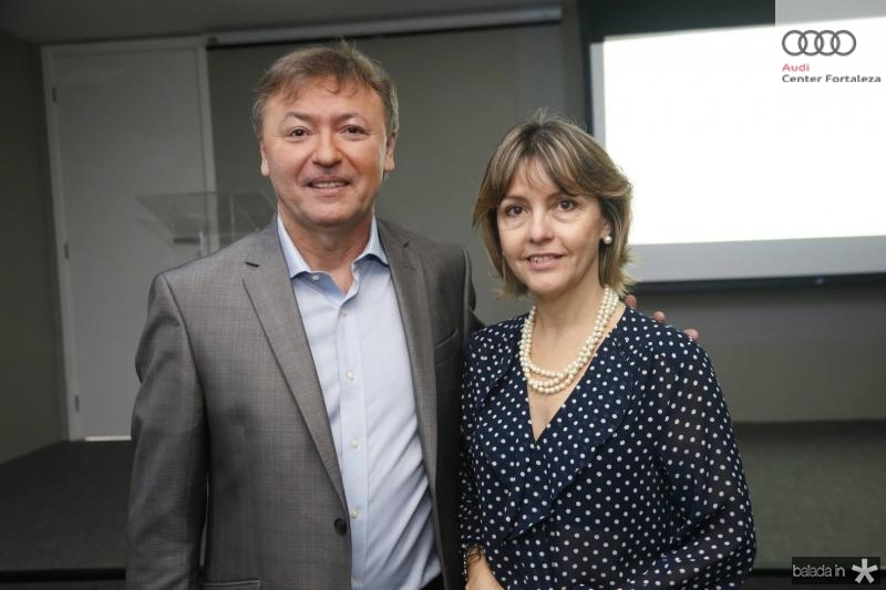 Mauricio Filizola e Circe Jane