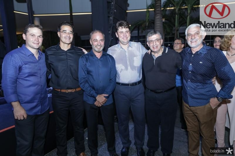 Fabio Albuquerque, Daniel Arruda, Marcos Novais, Ricardo Ary, Paulo Mauricio e Benedito Abude