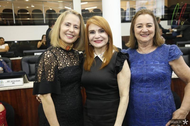 Teresa Ximenes, Veronica Gomes de Matos e Gerusa Lima
