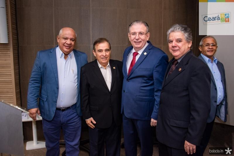 Pedro Alfredo, Claudio Targino, Ricardo Cavalcante e Chico Steves