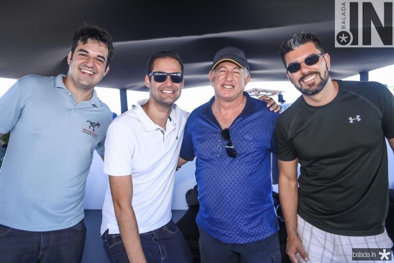 Joshua Albuquerque, Igor Machado, Paulo Barros e Cesar Henrique