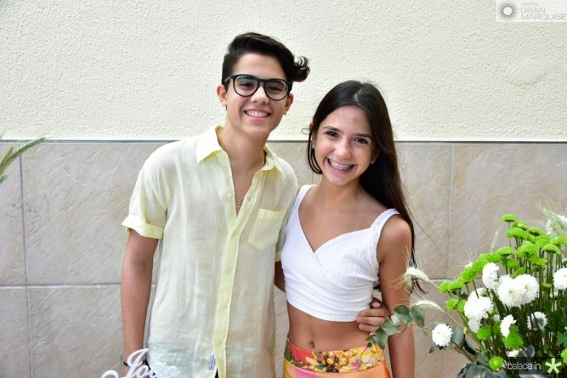 Joao Arthur e Nina Cavalcante