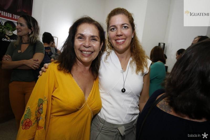 Dora Andrade e Ticiana Queiroz