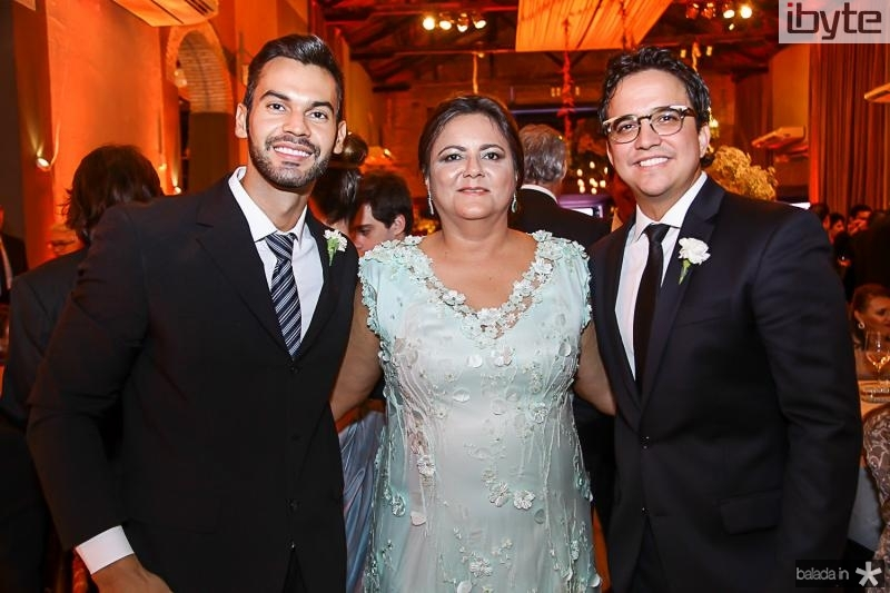 Licio Satiro, Marta Cunha e Panta Neto