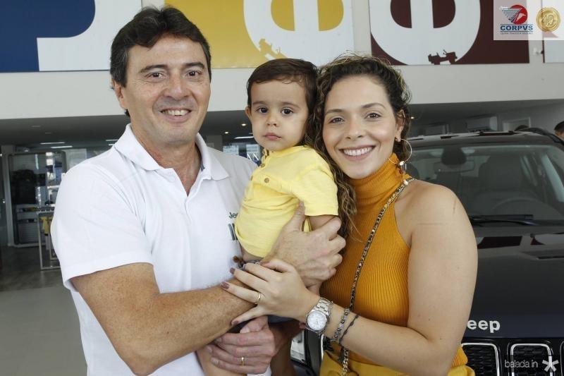 Luiz, Joao Pedro e Gabriela Teixeira