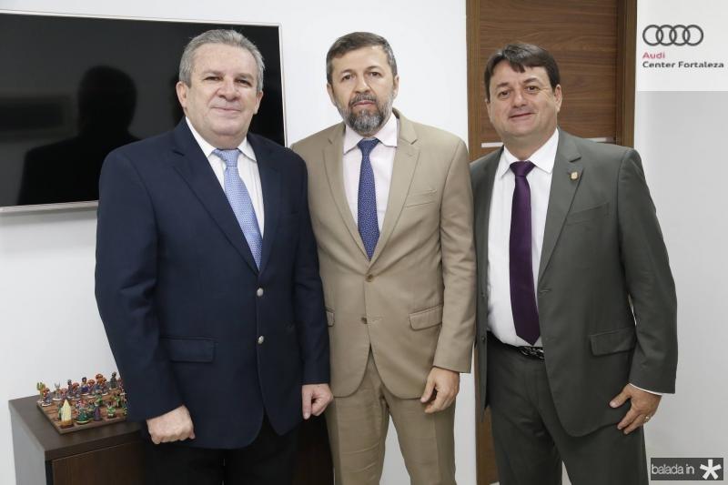 Jaime Cavalcante, Elcio Batista e Benigno Junior 2