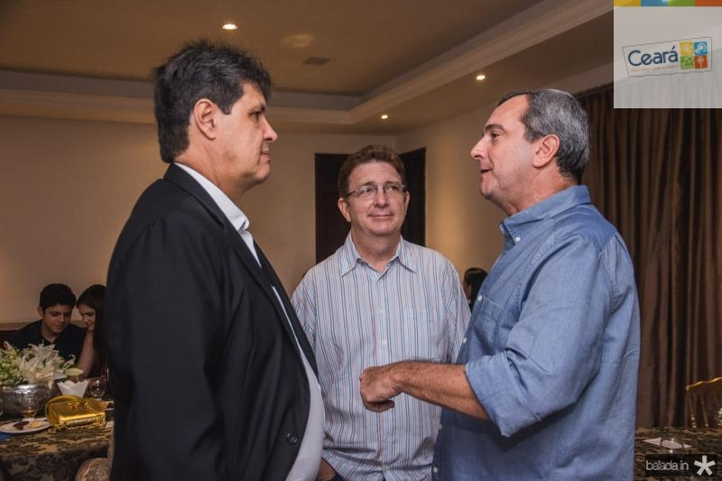 Marcos Oliveira, Carlos Machado e Kalil Otoch