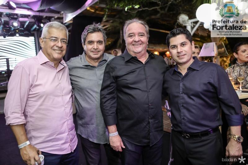PC Noroes, Totonho Laprovitera, Chiquinho Aragao e Pompeu Vasconcelos
