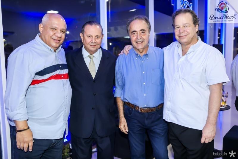 Pedro Alfredo, Ernane Barreira, Fred Carvalho e Francisco Ventura