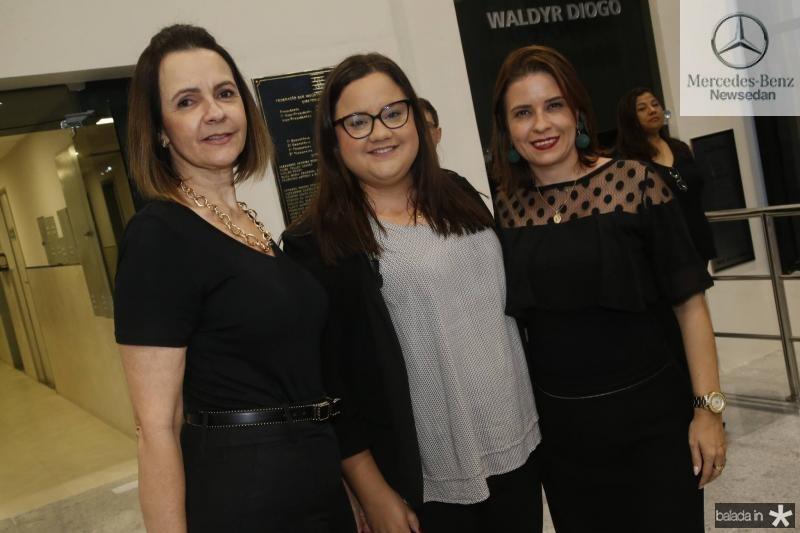 Miriam Pereira, Natalia Portela e Rocaia Dutra