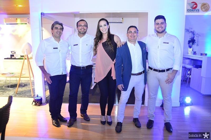 Augusto Jokafe, Berg Santos, Deyse Terra, Alexandre Lopes e Pedro Ximenes