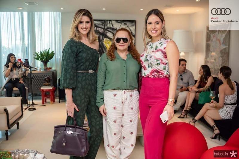 Rebeca Leal e Lisieux Brasileiro e Thyane Dantas