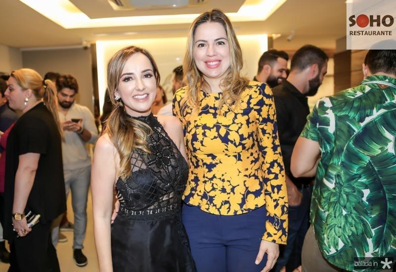 Kaline Ferraz e Onelia Leite Santana