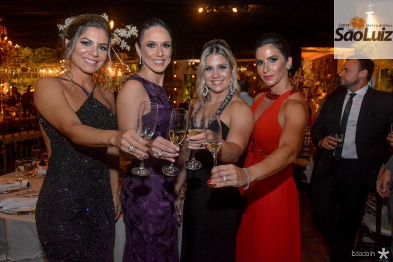 Thais Gurgel, Livia Viana, Juliana Ribeiro e Karina Militao