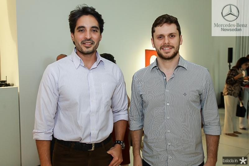 Rodrigo Porto e Victor Perlingeiro
