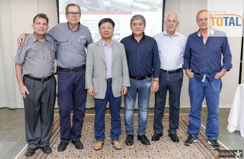 Fernando Castro Alves, Ricardo Parente, Luis Min, Sampaio Filho, Carlos Prado e Guilardo Gomes