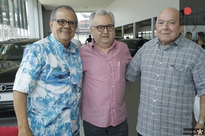 Maninho Brigido, Marconi Viana e Joao Carlos Pinheiro