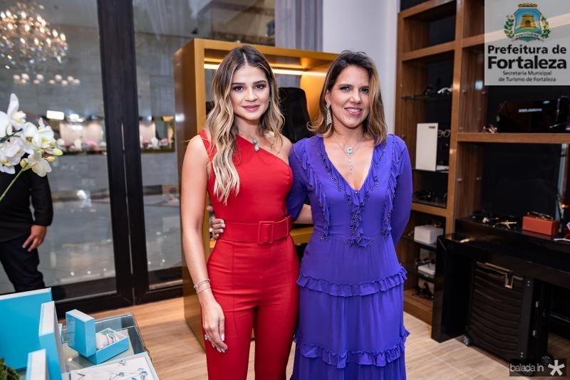 Thassia Naves e Ana Carolina Fontenele