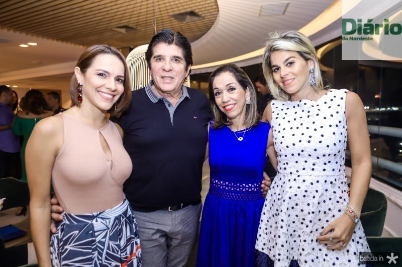 Roberta Bezerra, Dito Machado, Marcia e Amanda Tavora