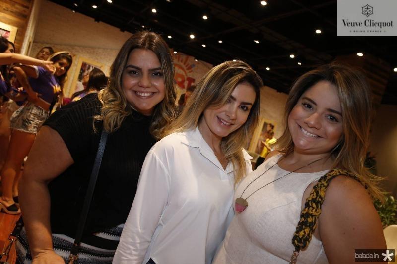 Renata Benevides, Jacqueline Maia e Karla Rodrigues