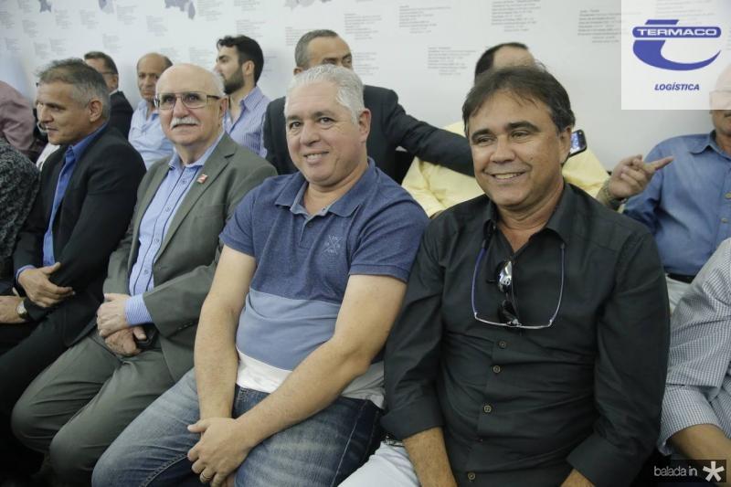 Joao Bosco Freitas, Oswaldo Vieira e Gilberto Costa