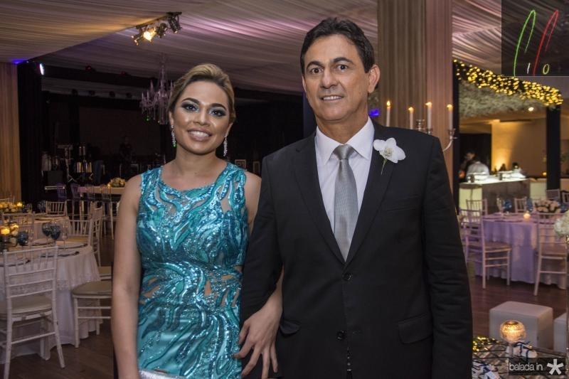 Rosangela Gomes e Bretis de Castro