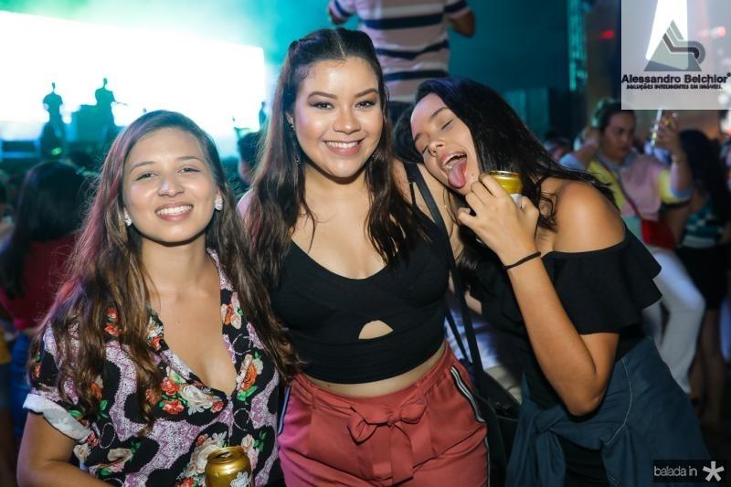 Raissa Costa, Vanessa Carvalho e Luana Santos