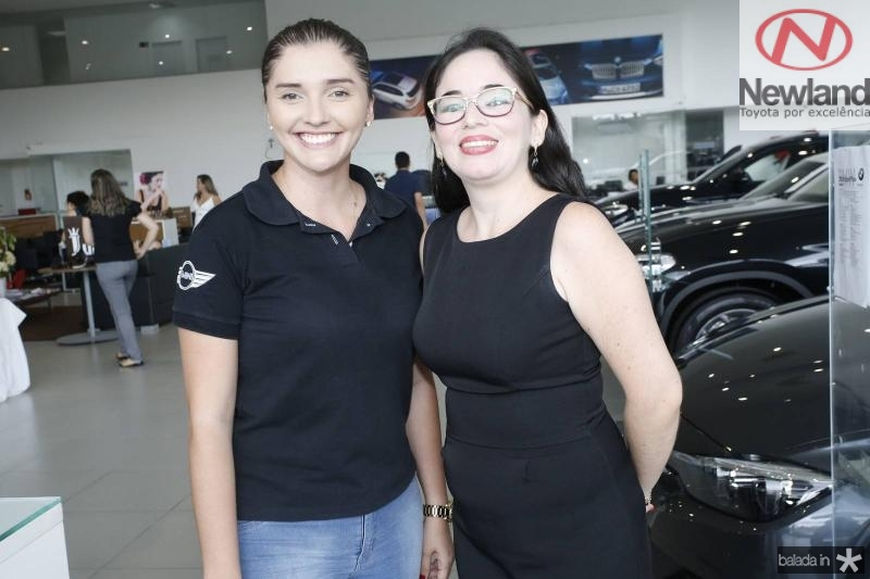 Sara Mendes e Aline Ferreira