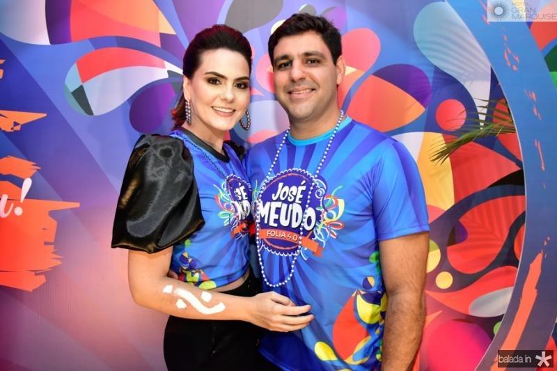 Vanessa Moura e Daniel Ferrer