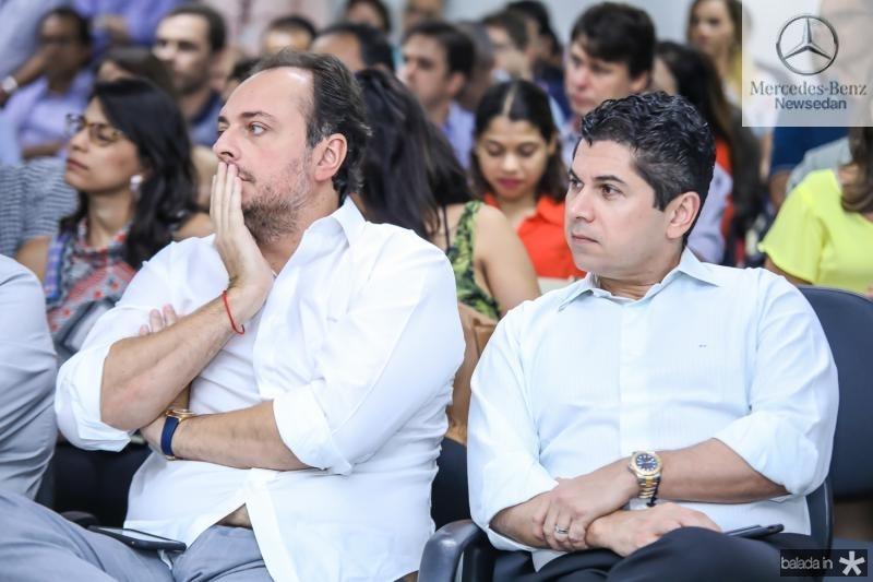 Adriano Nogueira e Pompeu Vasconcelos