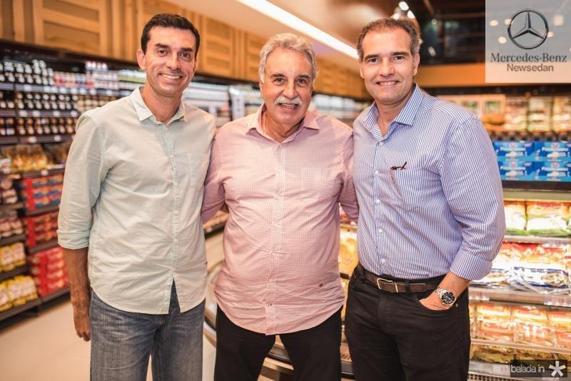 Cesinha Roma, Cesar Roma e Ricardo Figueiredo