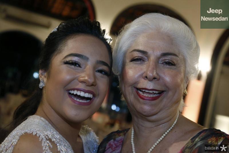Alodinha e Alodia Guimaraes
