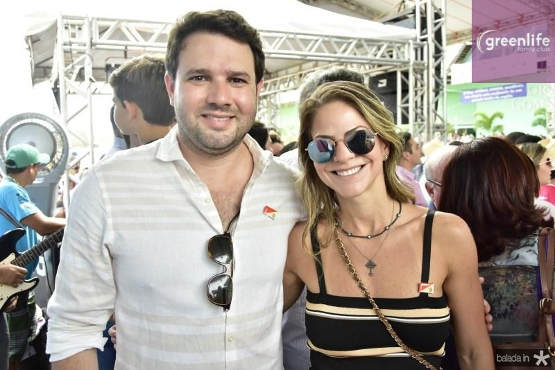 Leo Couto e Cecilia da Fonte