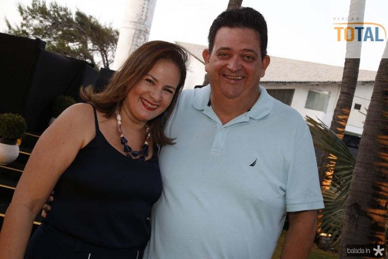 Cinthia e Nelson Machado
