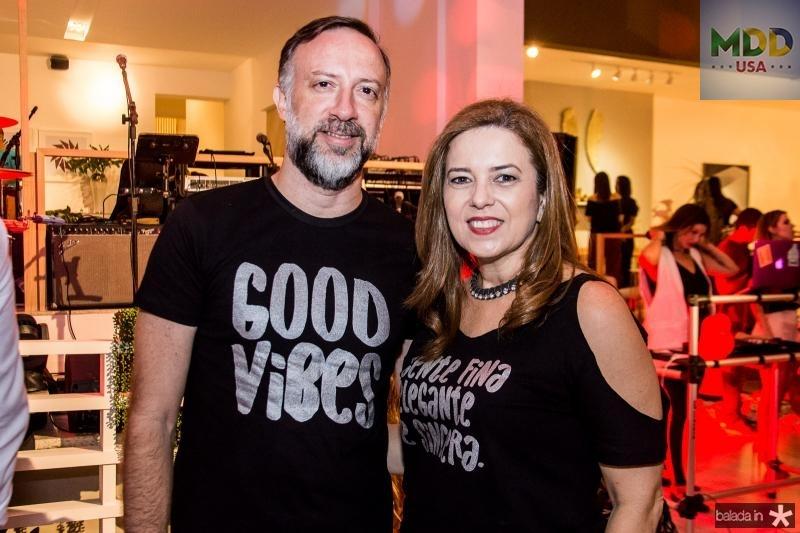 Andre Benevides e Ines Cavalcante