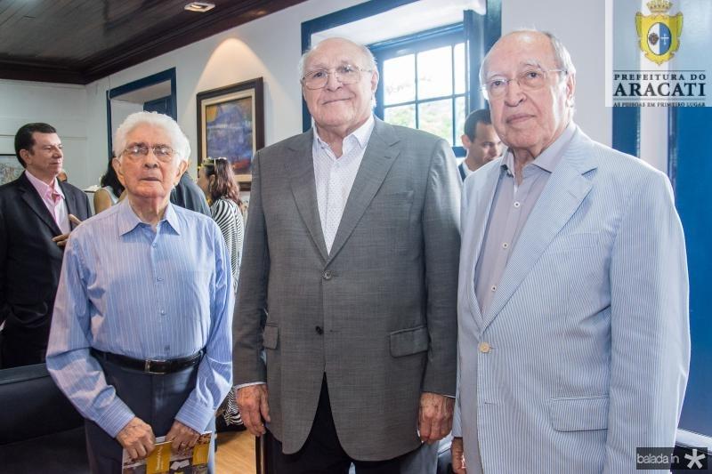 Jose Liberal de Castro, Luis Marques e Lucio Alcantara