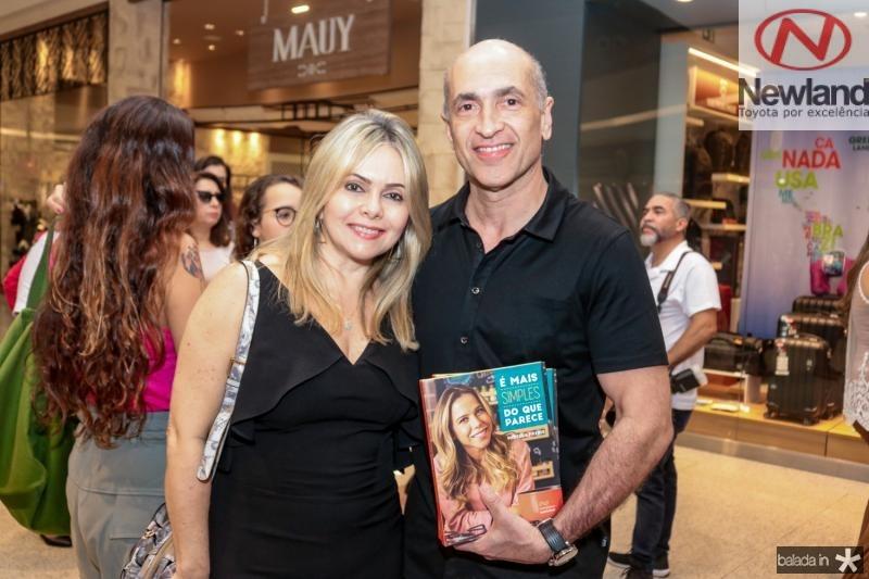 Claudia Menescal e Mário Jorge Menescal