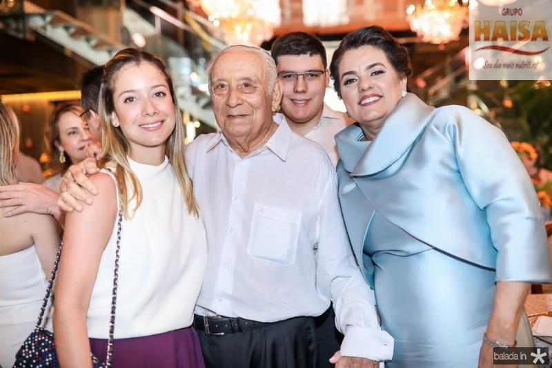 Lara, Adauto, Artur e Silvana Bezerra