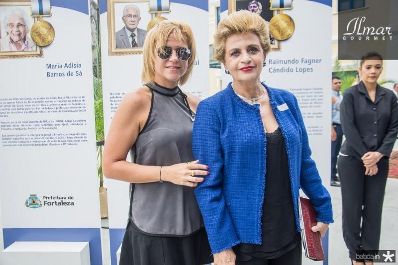 Andrea e Ana Virginia Juacaba