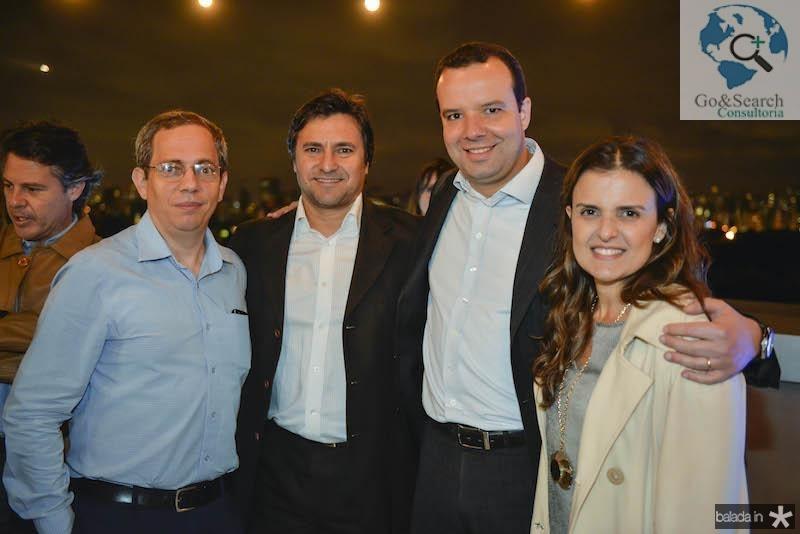 Paulo, Henrique Funari, Beto Vidal e Raquel