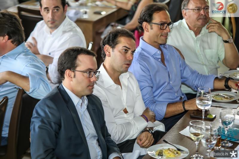 Ivo Machado, Claudio Vale e Deda Studart