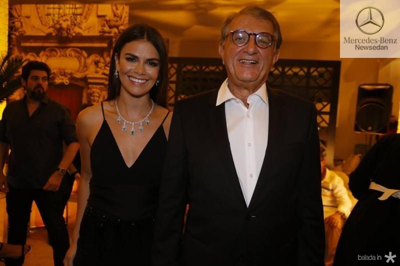 Diana Rocha e Arialdo Pinho