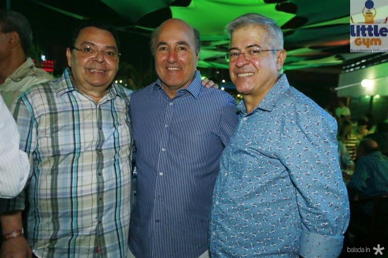 Gera Teixeira, Silvio Frota e PC Noroes